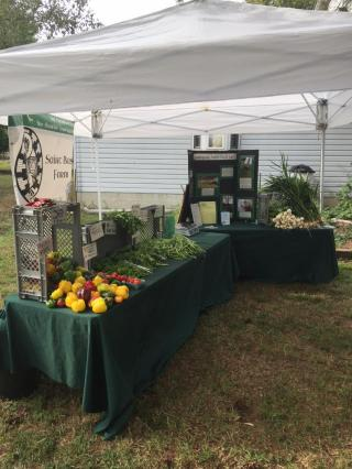 produce tent