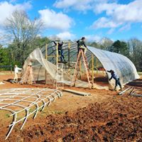 hoop house at morgan rd