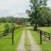 new farm driveway